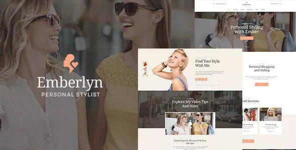 Emberlyn – 个人造型师WordPress主题 – v1.1