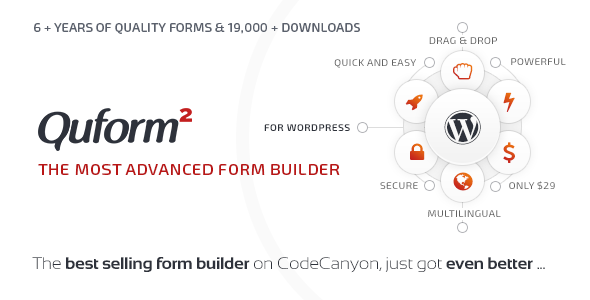 Quform – 表单生成WordPress插件 – v2.12.1