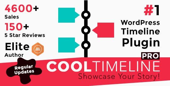 Cool Timeline Pro – 时间轴专版版WordPress插件 – v3.4.7