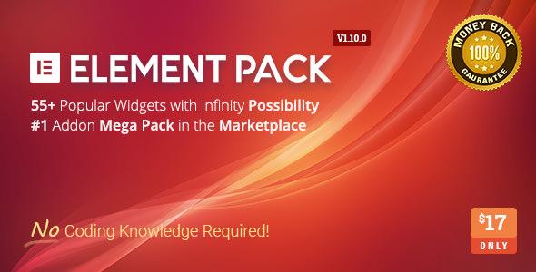 Element Pack – 页面构建器扩展 – v5.4.1