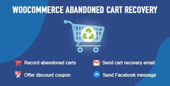WooCommerce Abandoned Cart Recovery 购物车删除商品恢复插件 – v1.0.5.6