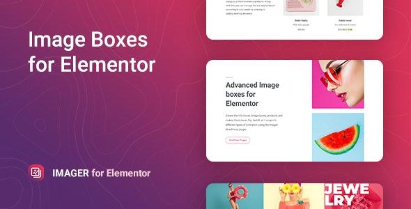 Imager – 高级图像盒子 Elementor 扩展插件