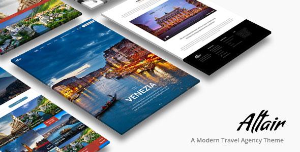 Altair Theme – 旅游景点网站WordPress主题 – v4.7