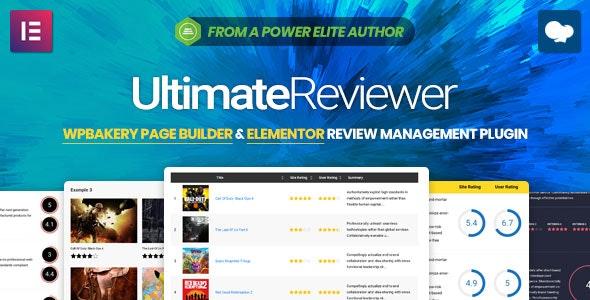 Ultimate Reviewer for WPBakery Page Builder 可视化点评插件 – v2.6.1
