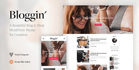 Blggn – 响应式博客商店WordPress主题 – v1.4.1