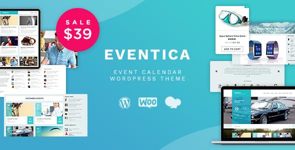 Eventica – 电子商务在线商店WordPress主题 – v1.15.1