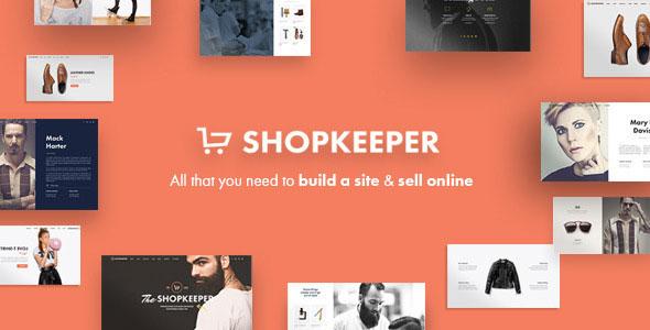 Shopkeeper – 创意购物商城网站WordPress汉化主题 – v2.9.29