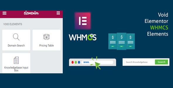 Elementor WHMCS Elements Pro 页面构建器 – v2.7