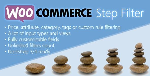Woocommerce Step Filter 商品一步一步筛选WordPress插件 – v7.5.0