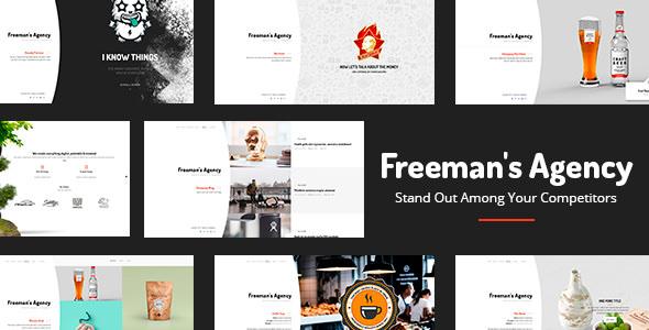 Freeman – 创意机构WordPress主题 – v1.0.4