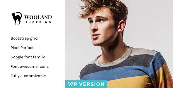 Wooland – 响应式电商WordPress主题 – v1.2