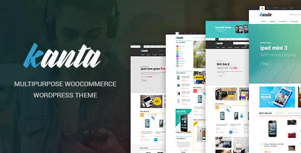 Kanta – 数码电子产品商店WooCommerce主题 – v2.0