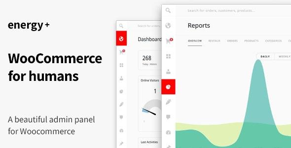 Energy+ – WooCommerce商店管理后台模板 – v1.2.4