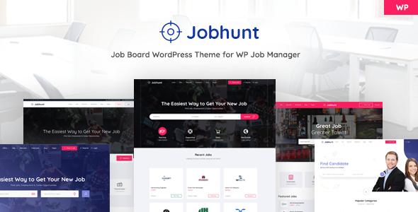 Jobhunt – 求职招聘网站模板WordPress主题 – v1.2.4