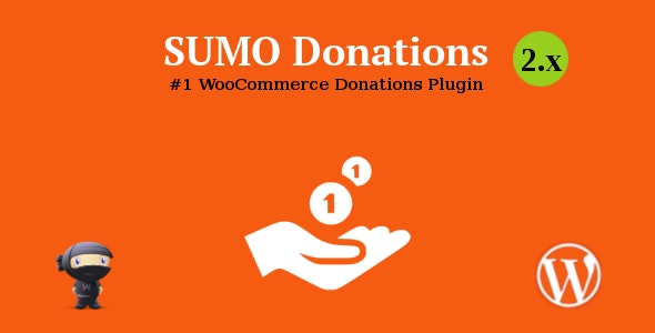 SUMO WooCommerce Donations 捐赠打赏捐款插件 – v3.0