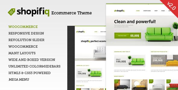 Shopifiq 响应式WooCommerce购物商城WordPress主题 – v2.4.6