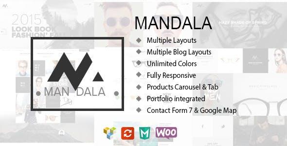 Mandala – 创意服饰在线商店模板WordPress主题 – v1.9.3