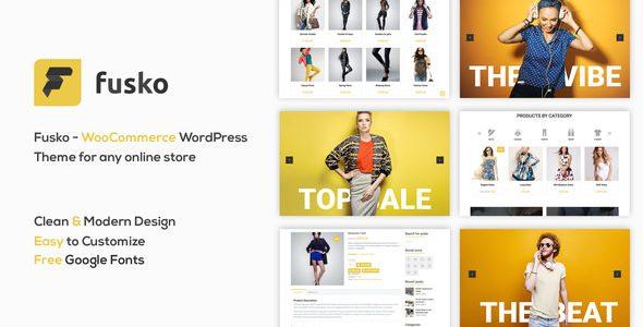 Fusko – Tech / Gadgets 时尚服饰在线商店WordPress主题 – v1.2