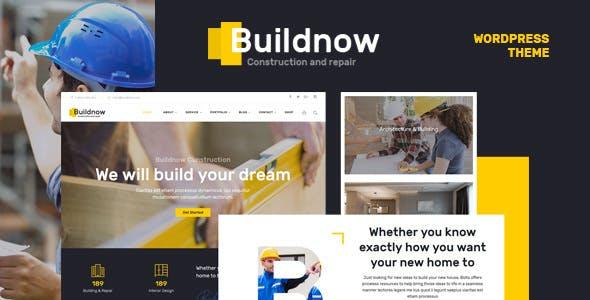 Buildnow – 建筑工程WordPress主题 – v1.1