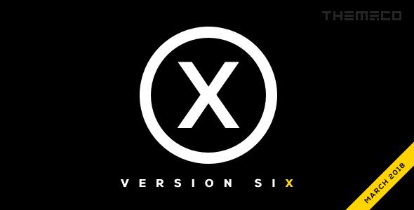 X – 多用途企业网站模板WordPress主题 – v7.2.3
