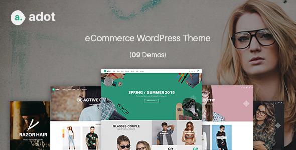 adot – eCommerce电商网上商店WordPress主题 – v2.5
