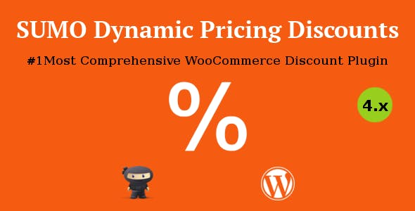 SUMO WooCommerce Dynamic Pricing Discounts 动态折扣定价插件 – v5.0
