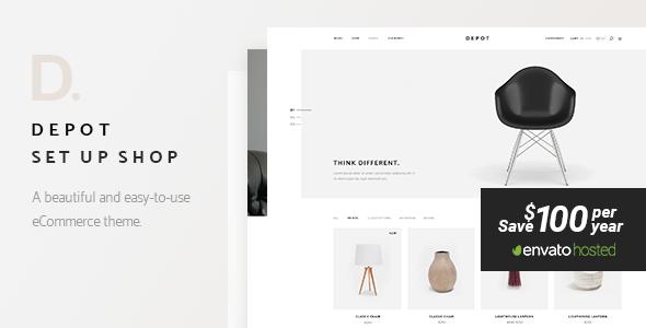 Depot – 电子商务网站模板WordPress主题 – v1.3