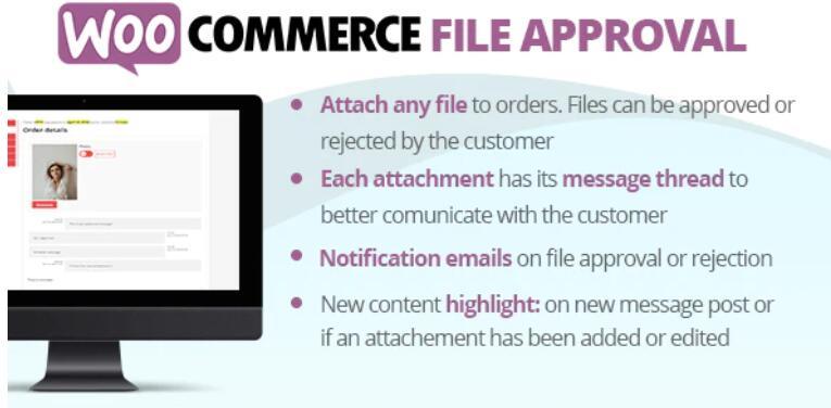 WooCommerce File Approval 商店产品文件共享插件 – v1.2.2