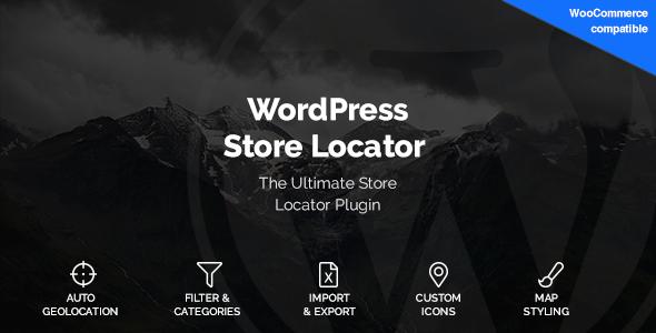 WordPress Store Locator 商店定位插件 – v1.11.2