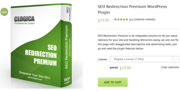 SEO Redirection – SEO优化插件 – v3.7