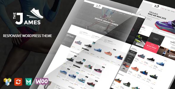 James 购物商城在线商店模板WordPress主题 – v1.5.3