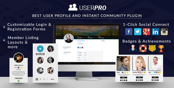 UserPro – 用户快捷登陆插件 – v4.9.38