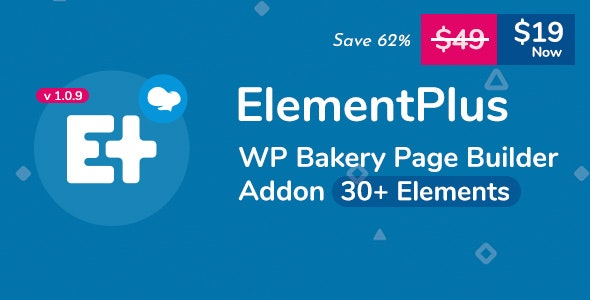 Element Plus – WPBakery Page Builder Addon 扩展元素插件 – v1.9.5