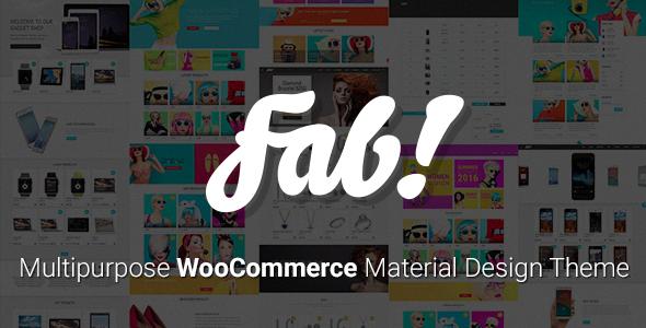 FAB! – 电商WooCommerce主题 – v1.10.2