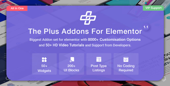 The Plus – Elementor 扩展插件 – v4.0
