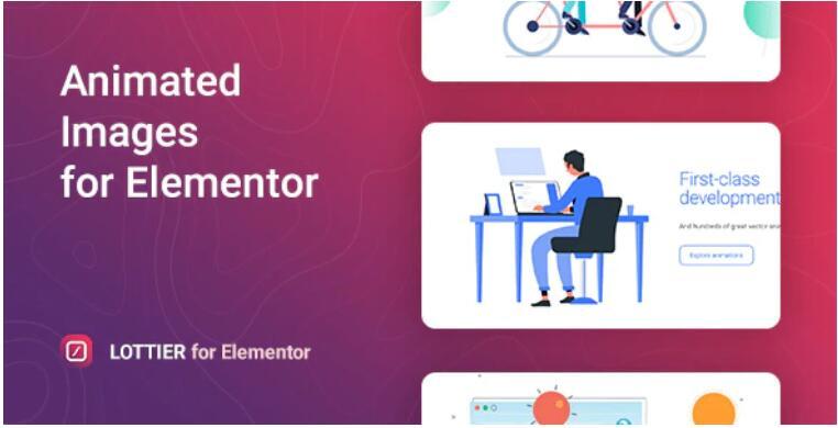 Lottier – 图片动画特效Elementor插件 – v1.0.3