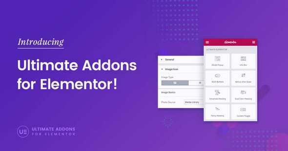 Ultimate Addons for Elementor 扩展插件 – v1.27.1