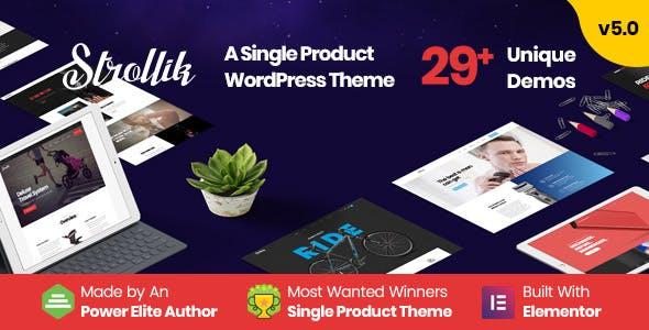 Strollik – 单品商店WooCommerce电商主题 – v2.0