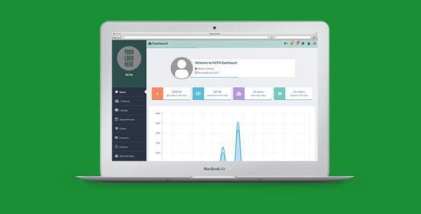 WooCommerce Frontend Manager Ultimate 前端销售报表管理插件 – v6.4.10