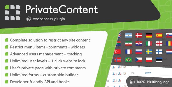 PrivateContent – 会员等级内容限制插件 – v7.311