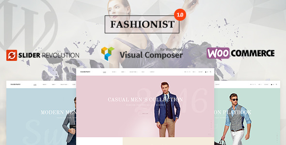 Fashionist – 购物商城模板WordPress主题 – v1.0.1