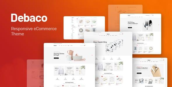 Debaco – 厨房用具卫浴WooCommerce商店模板 – v1.0.2