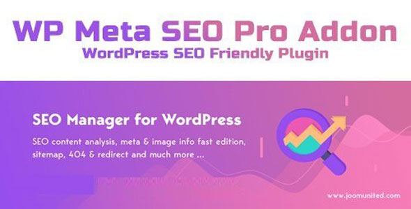 WP Meta SEO Pro Addon – SEO友好优化插件 – v1.4.6