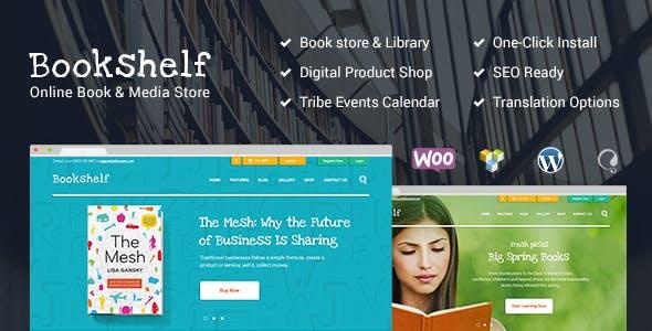 Bookshelf – 书籍媒体在线商店WordPress主题 – v2.1.4