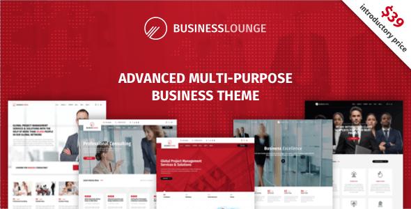 Business Lounge – 多功能商务/咨询WordPress主题 – v1.9.3.2
