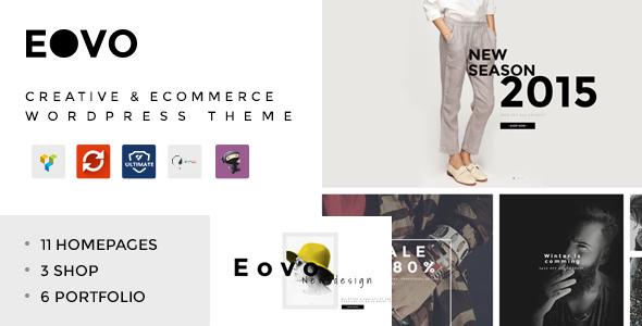 EOVO – 创意 eCommerce 电商模板 – v1.6