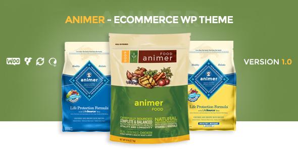 Animer – 简单的Ajax Woocommerce 主题 – v1.0.3