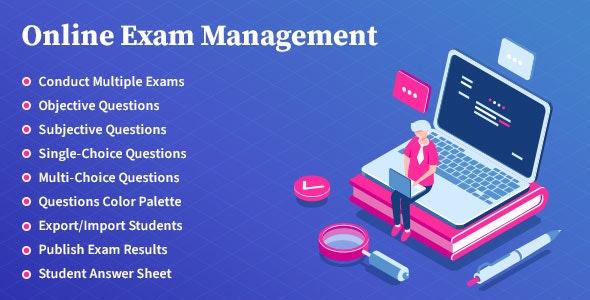 Online Exam Management – 在线教育考试成绩管理插件 – v2.0