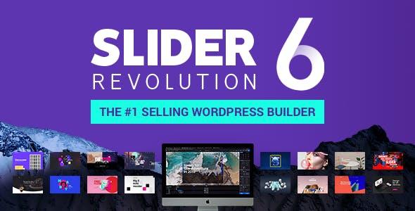 Slider Revolution 图像轮播滑块革命图层幻灯片WordPress插件 – v6.2.23
