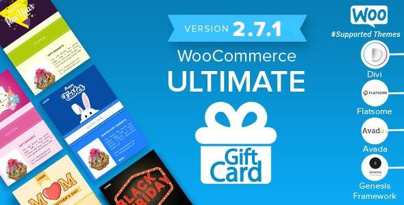 WooCommerce Ultimate Gift Card – 终极礼品卡券插件 – v2.7.5